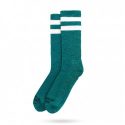 Chaussette Turqoise Noise Mid High AMERICAN SOCKS