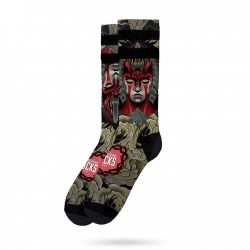 Chaussette Demon Mid High AMERICAN SOCS