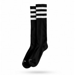 Chaussette Back in Black Knee High AMERICAN SOCS