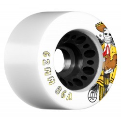 "Roues Quad ""Day of the Dead"" 62mm ROLLERBONES"