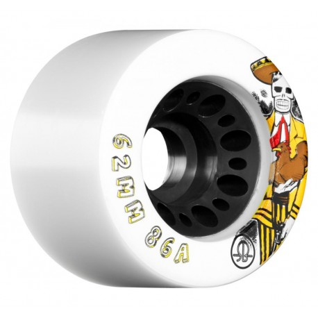 """Roues Quad """"Day of the Dead"""" 62mm ROLLERBONES"""