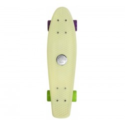 "Skateboard Juicy Susi Elite 22,5""x6 Phosphorescent CHOKE"