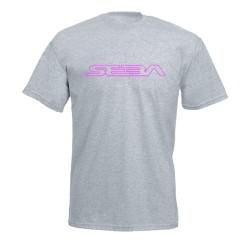 Tee Shirt Gris / Rose SEBA