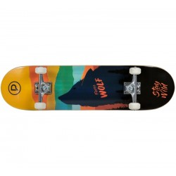 "Skateboard Firce Wolf 31"" x 8"" PLAYLIFE"
