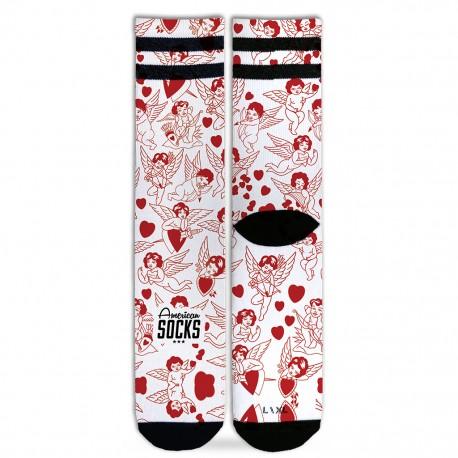 Chaussette Valentine Mid High AMERICAN SOCKS