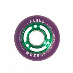 Roues Green Purple 64mm/90A FAMUS WHEELS