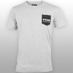 Tee Shirt Square Grey TSG