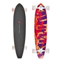 """Longboard Cut Kicktail 36"""" Streaming STREET SURFING"""