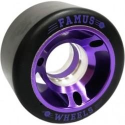 Roues Quad 56mmx29mm 98A Metal Core Violet FAMUS