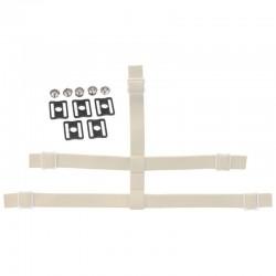 Strap + Boutons Pressions pour Masques Gardien CCM